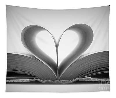 Love Book Tapestry