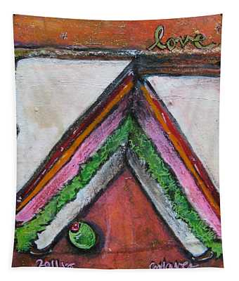 Love For Ham Sandwich Tapestry