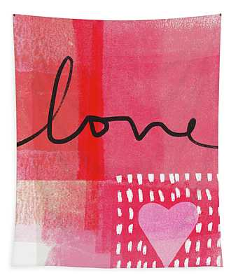 Love Notes- Art By Linda Woods Tapestry