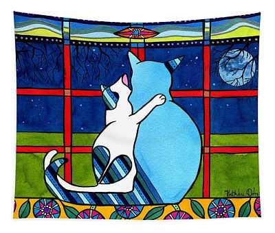 Love You Mom Tapestry
