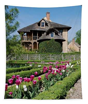 Lovely Garden And Cottage Tapestry