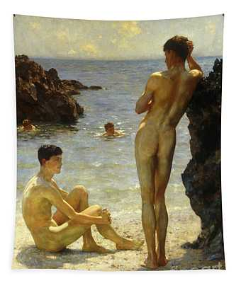 Nudity Wall Tapestries
