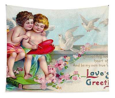 Loves Greeting Tapestry