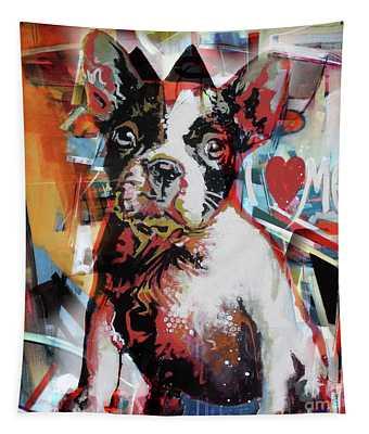 Loving Dog 44c Tapestry