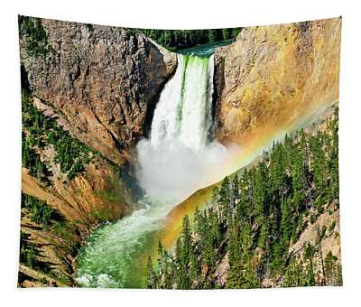 Lower Falls Rainbow Tapestry