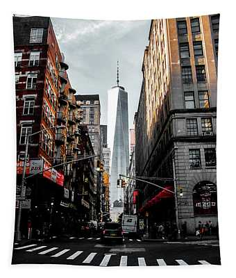 Lower Manhattan One Wtc Tapestry
