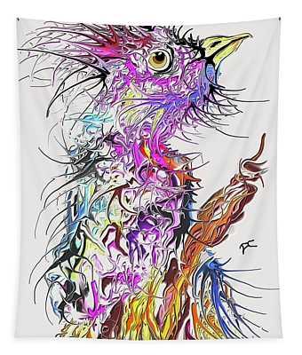 Lsd Bird 2 Tapestry