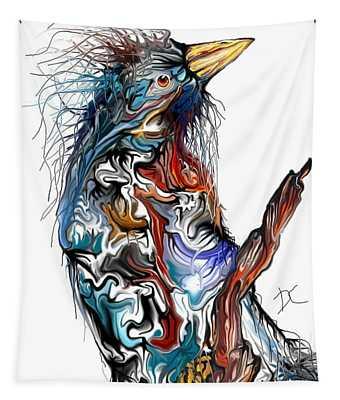 Lsd Bird Tapestry