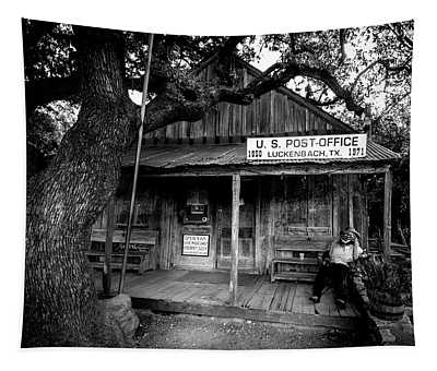 Luckenbach Texas Tapestry