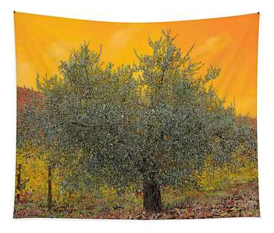 Olive Oil Paintings Wall Tapestries