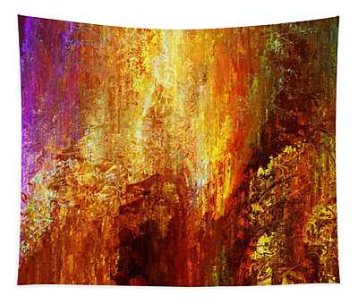 Luminous - Abstract Art Tapestry