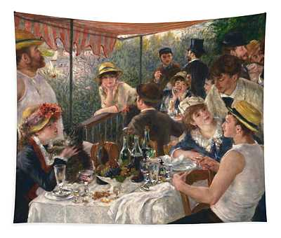 Luncheon Of The Boating Party By Renoir Tapestry