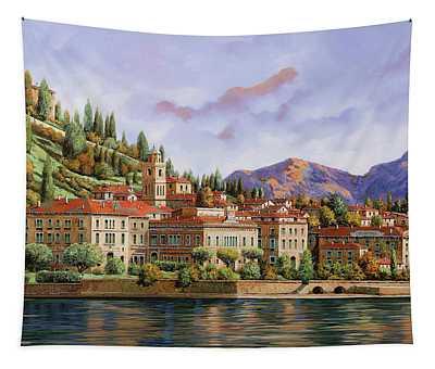 lungolago di Bellagio Tapestry