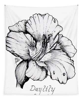 Luscious Daylily  Tapestry