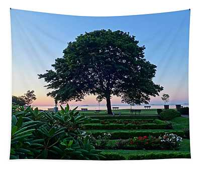 Lynch Park At Dawn Beverly Ma Tapestry