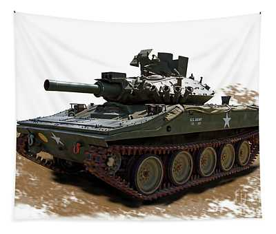 M5511 Armored Reconnaissance Airborne Assault Vehicle Tapestry