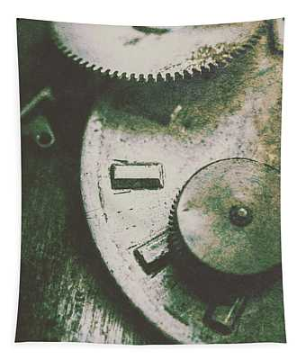 Machinery From The Industrial Age Tapestry