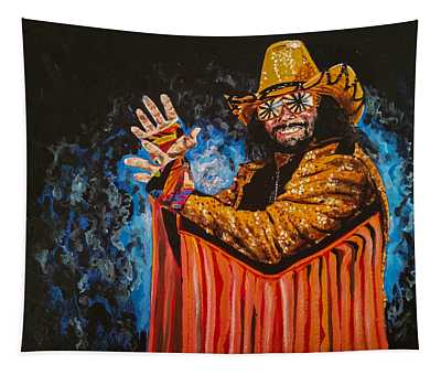Macho Man Randy Savage Tapestry