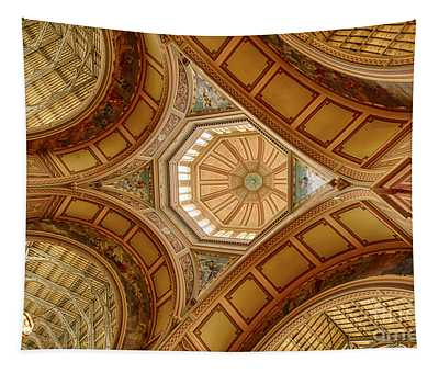 Magestic Architecture Tapestry