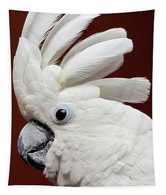 Maggie The Umbrella Cockatoo Tapestry