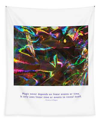 Magic Reveals Itself Tapestry