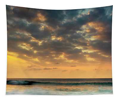 Magic Sands Sunset Tapestry