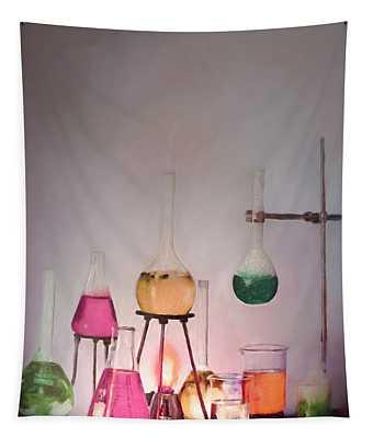 Magical Beakers Tapestry