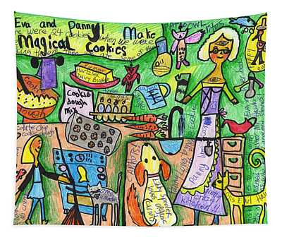 Magical Cookies A Collaboration With Eva Miller Tapestry