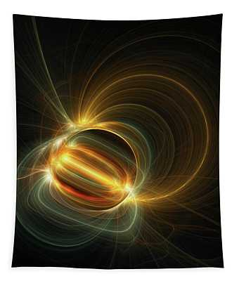Magnetic Field Tapestry