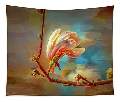 Magnolia Abs #h4 Tapestry