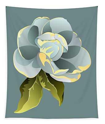 Magnolia Blossom Graphic Tapestry