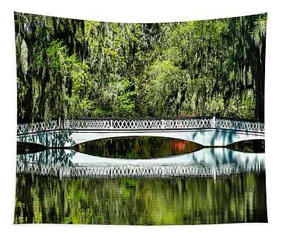 Magnolia Plantation Bridge - Charleston Sc Tapestry