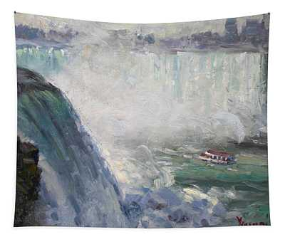 Maid Of The Mist Tapestry