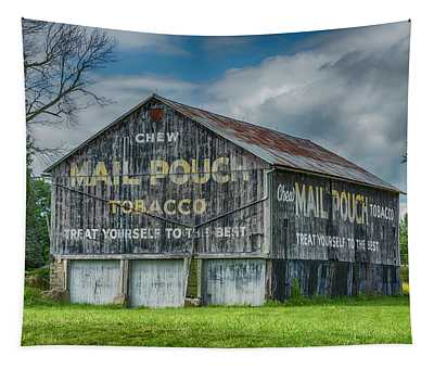Mail Pouch Barn - Us 30 #4 Tapestry