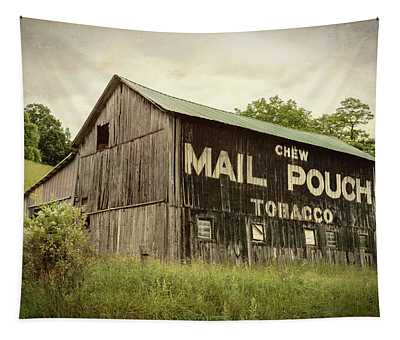 Mail Pouch Barn - U.s. 62 #1 Tapestry