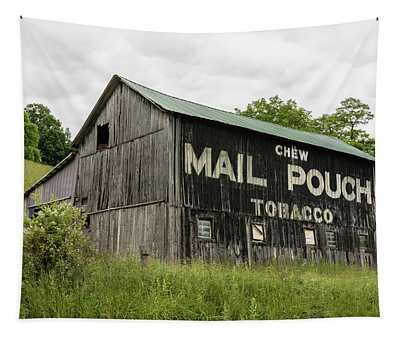Mail Pouch Barn - U.s. 62 #2 Tapestry
