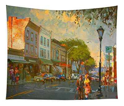 Main Street Nyack Ny  Tapestry