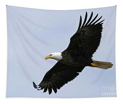 Majestic Bald Eagle Tapestry