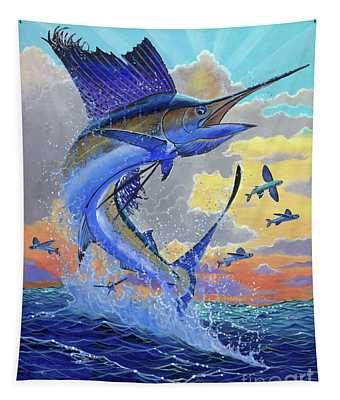 Majestic Sail Off00159 Tapestry