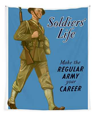 Make The Regular Army Your Career Tapestry