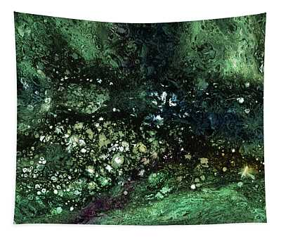 Malachite- Abstract Art By Linda Woods Tapestry