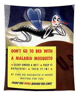 Malaria Mosquito Tapestry