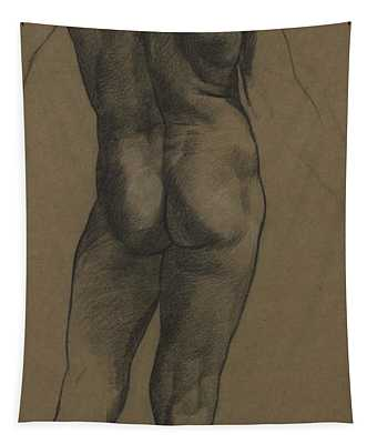 Male Nude Study Tapestry