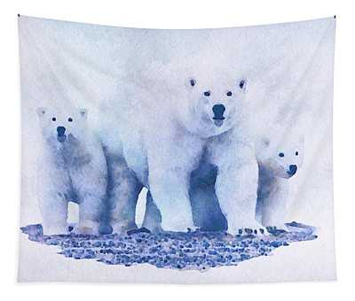 Mamma Bear  Tapestry