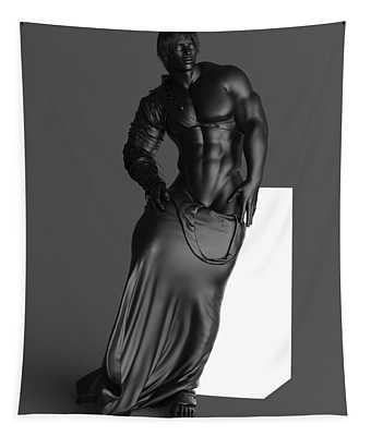 Man Lamp Modernist Style Tapestry