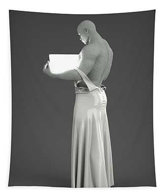 Man Lamp Number Two Tapestry