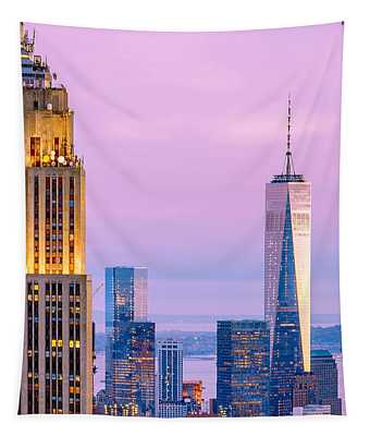 Manhattan Romance Tapestry