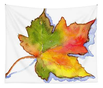 Maple Leaf Turning Tapestry