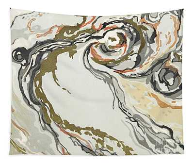 Marbled Pattern Tapestry
