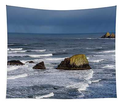 March At Ecola Tapestry